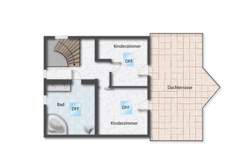 Erstes Obergeschoss